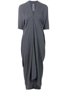 платье мешковатого кроя Rick Owens