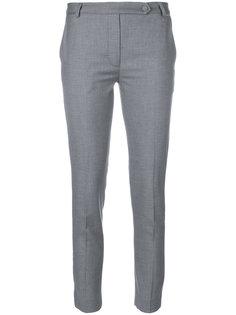 строгие укороченные брюки  Styland