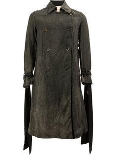 двубортное пальто  Uma Wang