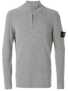 свитер с нашивкой логотипа Stone Island