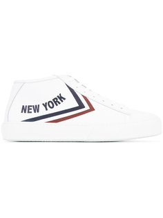 кроссовки New York с принтом Joshua Sanders