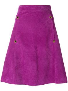 А-образная юбка с завышенной талией  Paul Smith