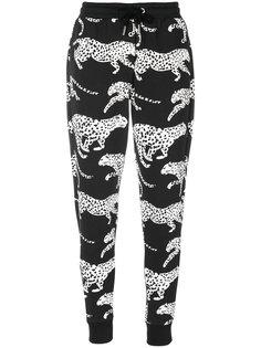 спортивные брюки с леопардовым принтом Zoe Karssen