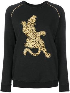 толстовка с леопардовым принтом  Zoe Karssen