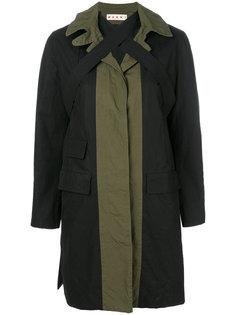 пальто с перекрестными ремешками  Marni