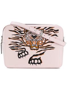 сумка на плечо с изображением тигра Kenzo