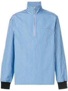 рубашка с планкой на молнии Marni