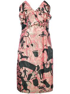 платье-бандо с принтом Vivienne Westwood