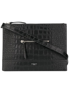 сумка-мессенджер с тиснением Givenchy