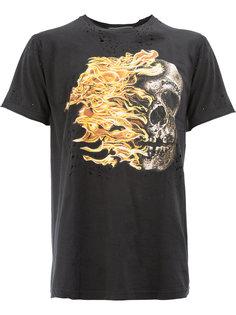 футболка с принтом Dom Rebel
