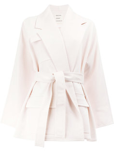 пальто с поясом  Maison Rabih Kayrouz