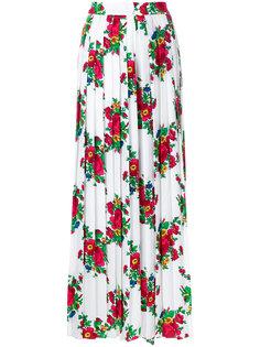 расклешенные брюки с цветочным принтом  Seen