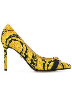 туфли-лодочки Baroccoflage с заостренным носком Versace