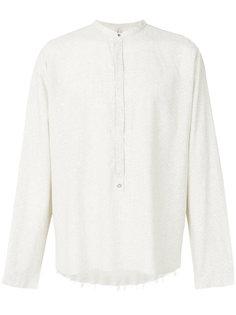 рубашка с половинчатой планкой Dnl