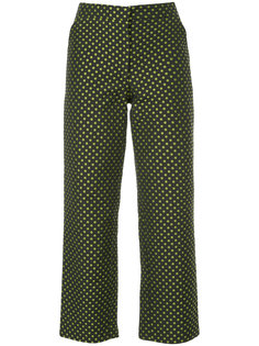 dotted cropped trousers  N Duo
