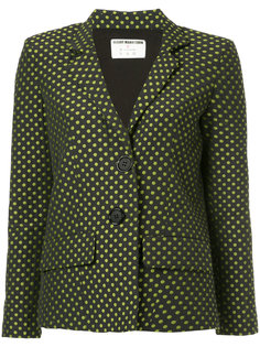dotted blazer N Duo