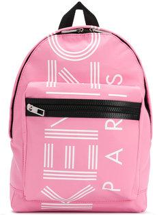 маленький рюкзак с принтом логотипа Kenzo