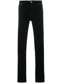 джинсы с логотипом на манжетах Kenzo