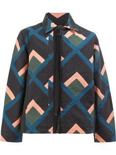 """куртка дизайна """"колор-блок"""" на молнии Craig Green"""