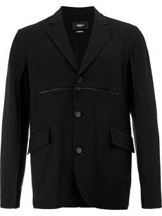 пиджак с декоративной молнией на груди Yang Li