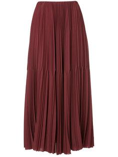 плиссированная юбка миди Astraet