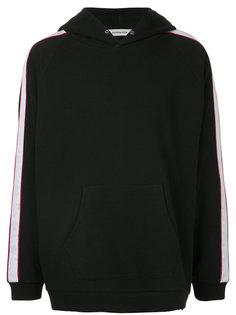свитер свободного кроя с капюшоном monkey time