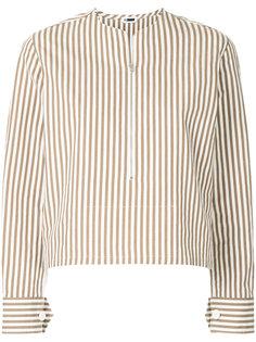 блузка в полоску на молнии H Beauty&Youth
