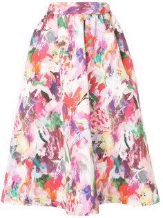 пышная юбка с цветочным принтом Han Ahn Soon
