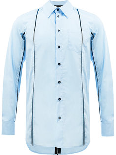 laddered panel shirt Yang Li