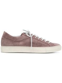 кроссовки на шнуровке Low Brand