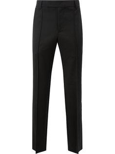 fringed pleat detailed trousers Yang Li