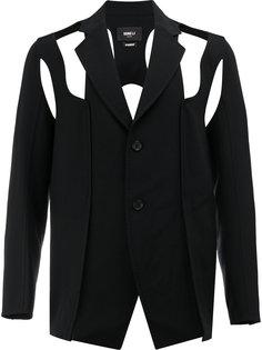 пиджак с вырезными деталями Yang Li