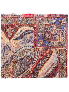 шарф с принтом paisley Etro