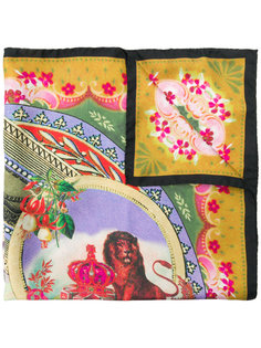 платок с принтом circus Etro