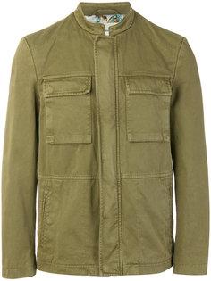 пиджак в стиле милитари с контрастной подкладкой Etro