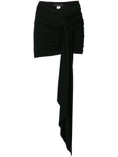 драпированная мини юбка Alexandre Vauthier