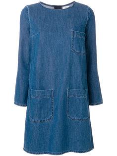 джинсовое повседневное платье Closed