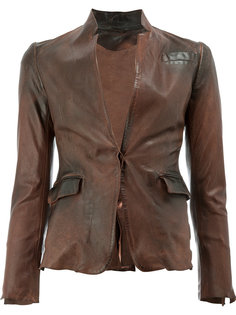 кожаный пиджак Numero 10