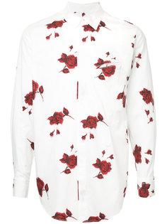 rose print shirt Bed J.W. Ford