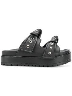 сандалии на платформе Alexander McQueen