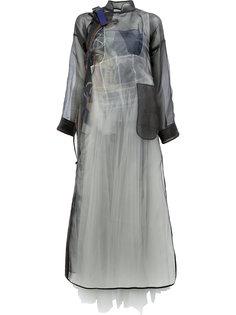 полупрозрачное пальто  Quetsche