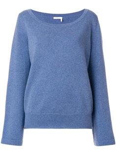 свитер с широким воротом  Chloé