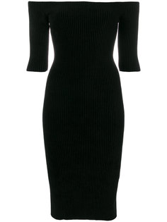 бесшовное платье миди  Helmut Lang