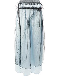 многослойная прямая юбка  Quetsche