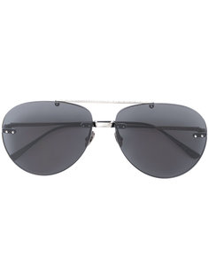 tinted aviator sunglasses Bottega Veneta Eyewear