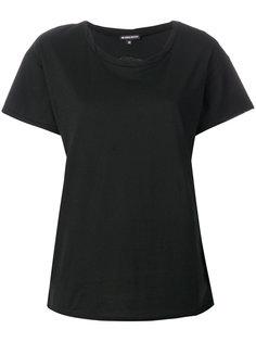 футболка с вышивкой  Ann Demeulemeester
