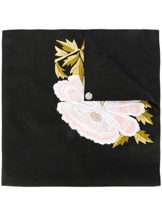 платок с вышивкой Ann Demeulemeester