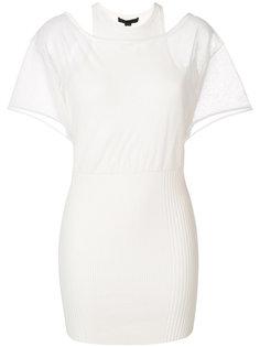 многослойное платье-футболка  Alexander Wang