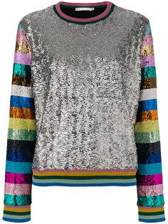 свитер с пайетками Magpie Mary Katrantzou