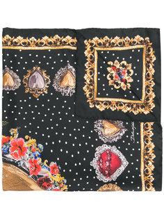 шарф с принтом Sacred Heart Locket Dolce & Gabbana